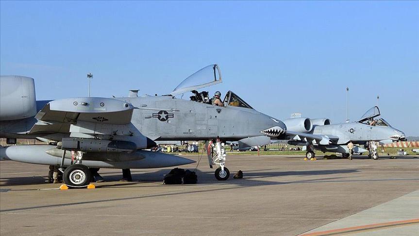 AS Kirim Jet Tempur dengan Jumlah Besar ke Pangkalan Udara Turki