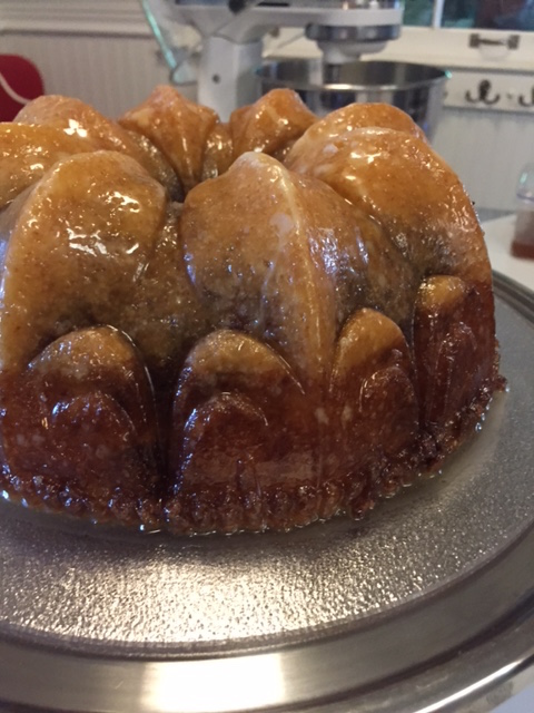 Pecan Molasses Bundt Cake With Bourbon Glaze Recipe — Dishmaps