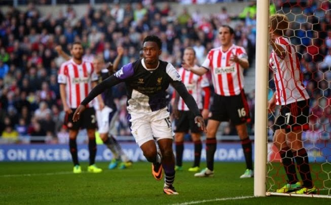 Daniel Sturridge Goal Sored Against Sunderland