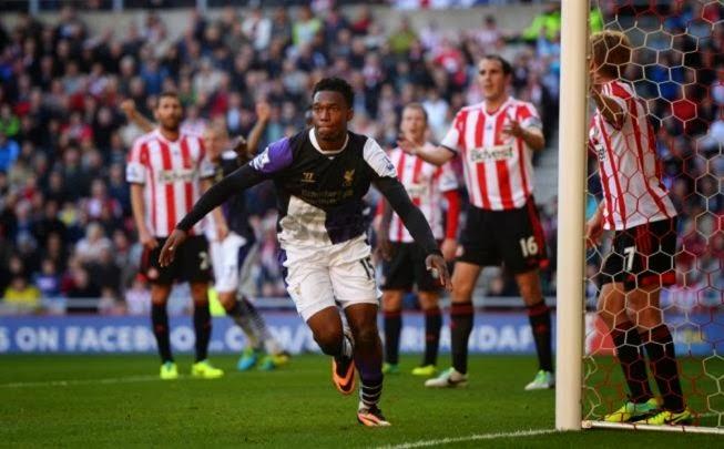 Daniel Sturridge Goal Sored Against Sunderland