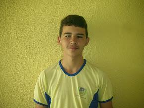 4º Colocado Geral na escola, aluno Apolo Jeter da Silva do 9º Ano A ficou com média final 9,7