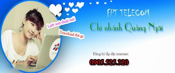 Đăng Ký Lắp Đặt Wifi FPT Quảng Ngãi