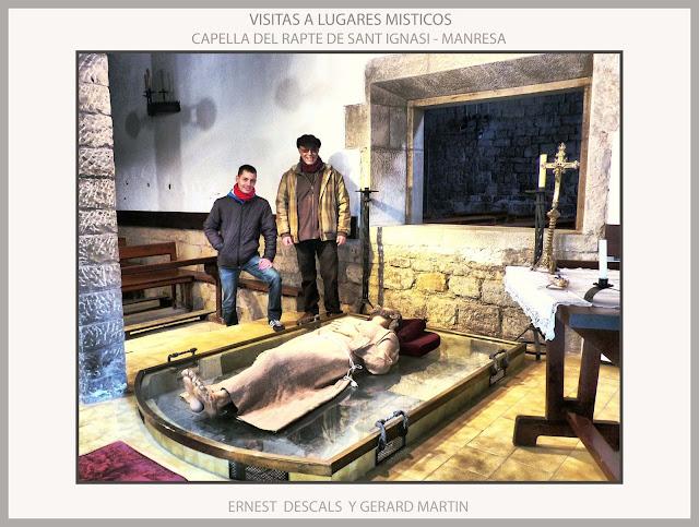CAPELLA-RAPTE-SANT IGNASI-MANRESA-RUTA-VISITES-LLOCS-MISTICA-HISTORIA-FOTOS-ARTISTES-PINTORS-ERNEST DESCALS-GERARD MARTIN-