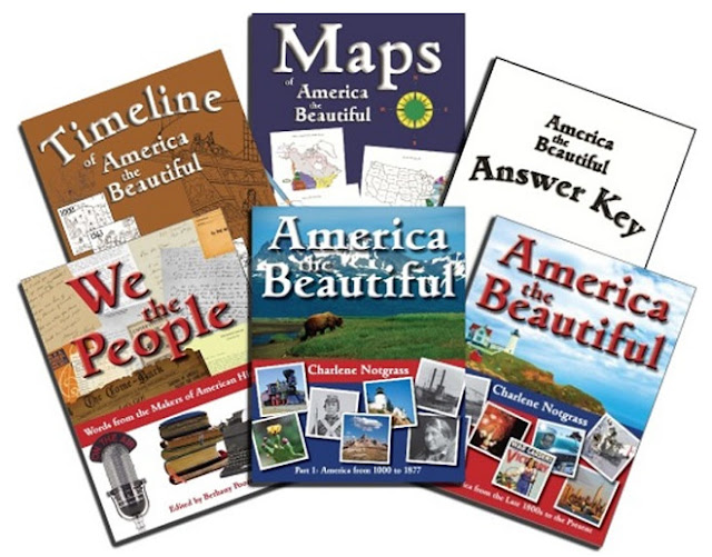 American History for Middle School Homeschool with Notgrass America the Beautiful