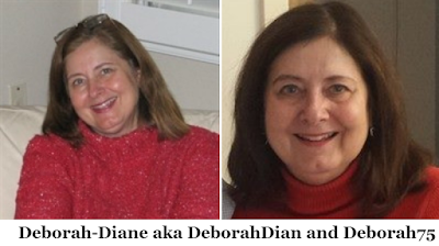 Avatar and photo of Deborah-Diane, DeborahDian and Deborah75