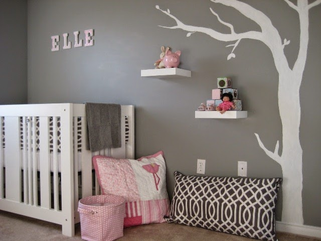 Baby nursery wall paint color ideas Nursery wall ideas