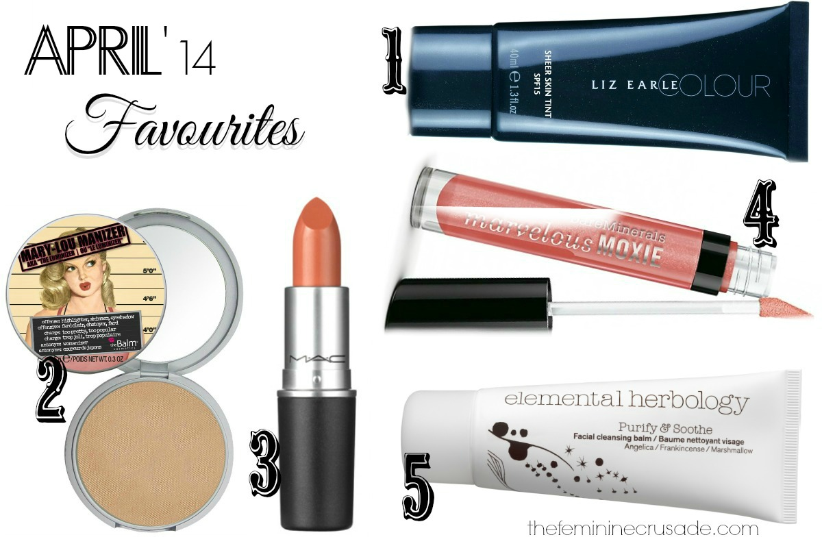 April Monthly Favourites