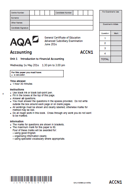 Writing custom paper solution on financial accounting