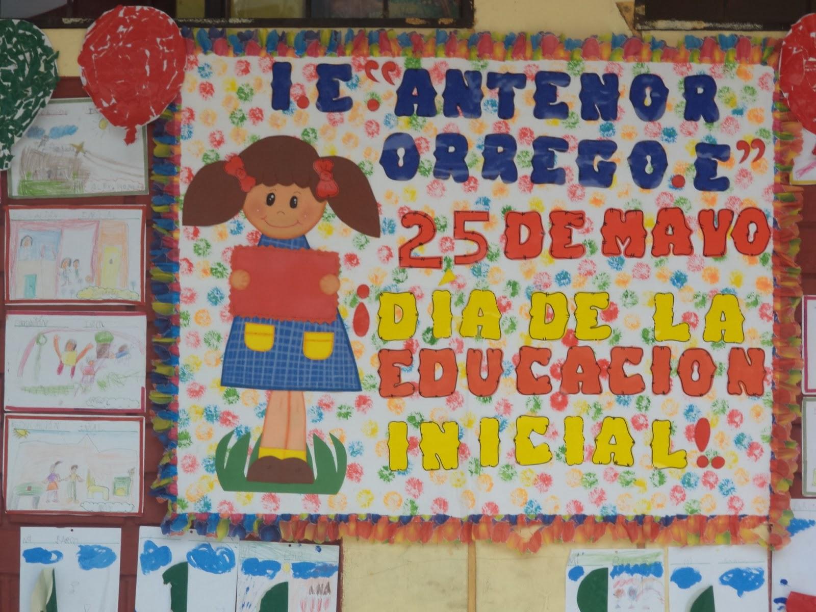 """ORREGO ESPINOZA"""" -ZÁRATE: Celebración del día de Educación Inicial"""