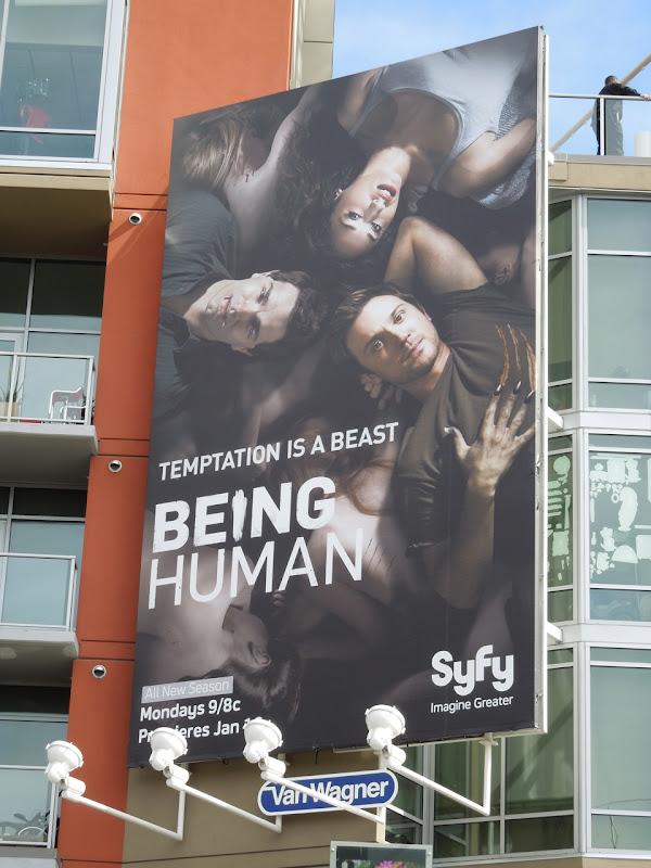 Being Human season 2 Syfy billboard