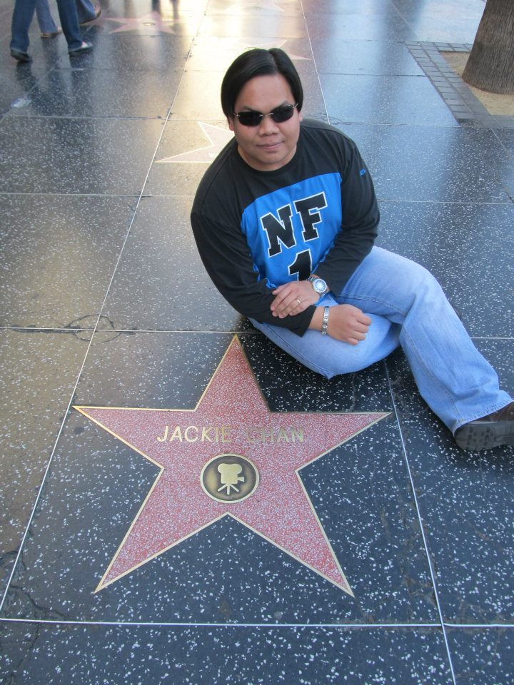 Hollywood Walk of Fame Jackie Chan star