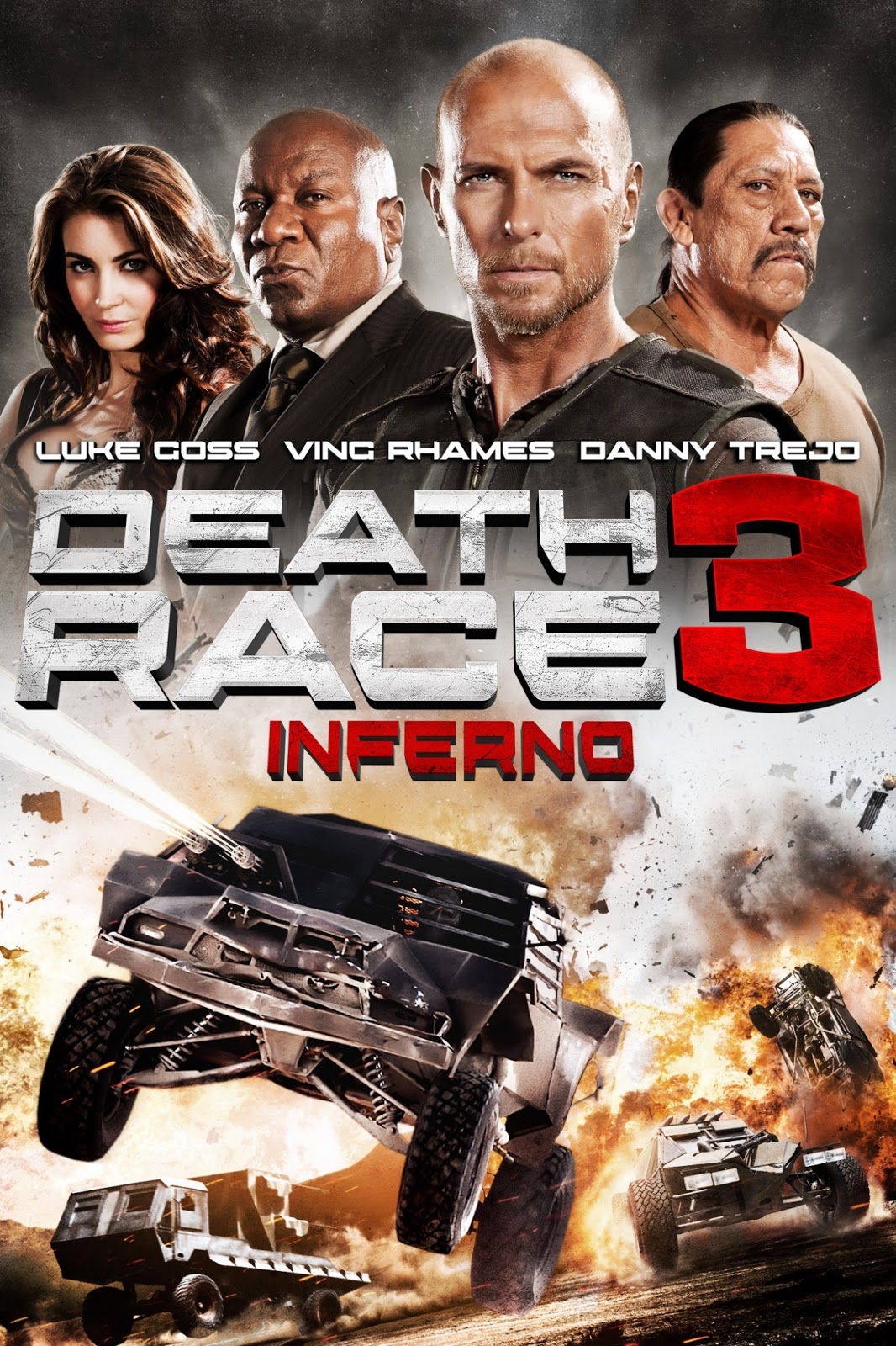Death Race 3: Inferno 2013 Hollywood Movie Watch Online