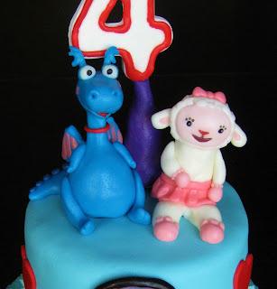 Doc Mcstuffins Lambie Birthday Cake