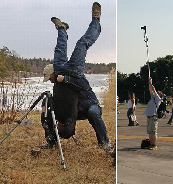 Funny Images for Photographers Who Could do Anything to get the Perfect Picture!