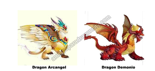 Nuevos Dragones Dragon Arcangel y Dragon Demonio En Dragon City