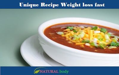 Unique Recipe Weight loss fast