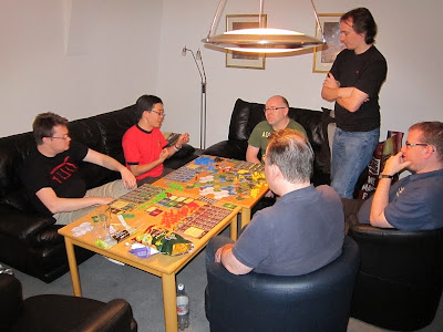 Clash of Cultures - The players have already started their epic game