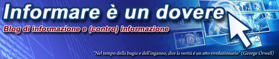 Informare è un dovere