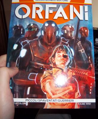Cover Orfani Bonelli numero 1