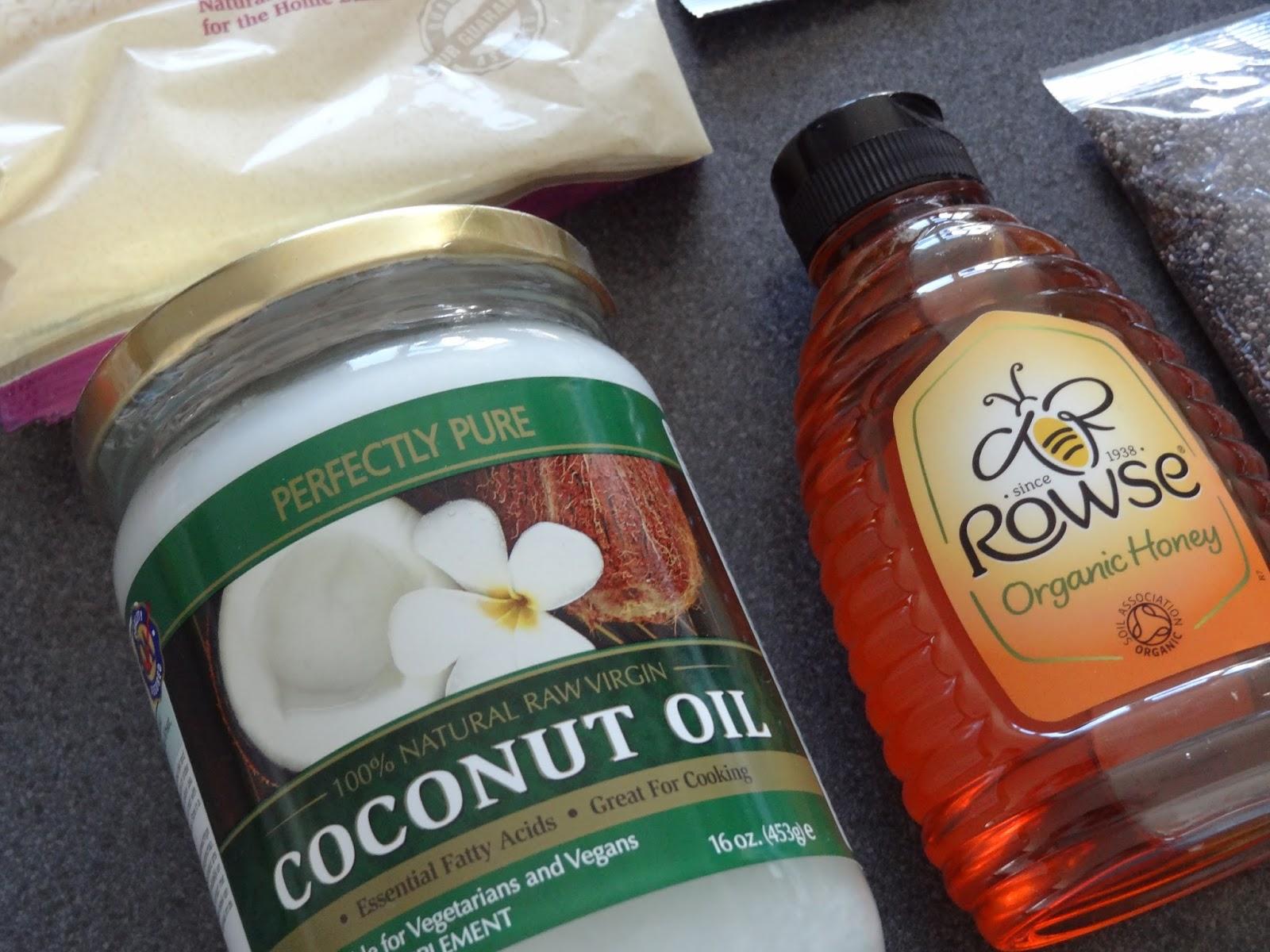 Holland and Barrett Coconut Oil Organic Honey