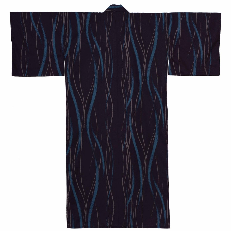 lined kimono