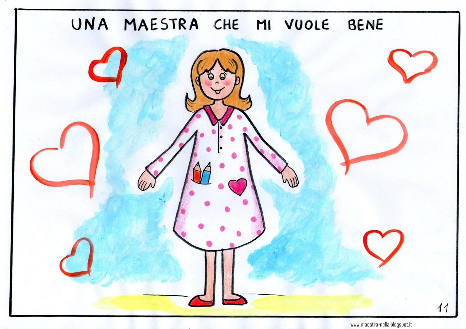 Maestra nella libricino 39 ciao estate vado a scuola for Maestra valentina estate