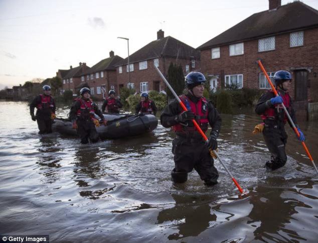 Innondation en angleterre