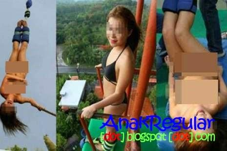 Gadis 17 tahun Nekat Bungee Jumping Sambil Telanjang Di Tahiland