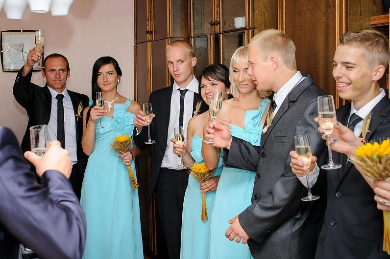 vestuvių šampanas