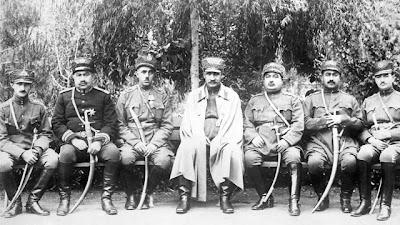 رضاخان سردار سپه و يارانش