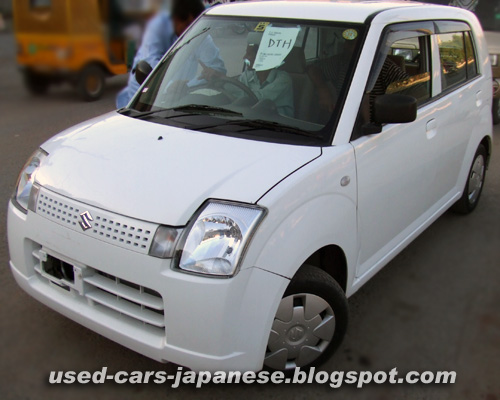 Unregistered Japanese cars for sale in Karachi - alto2006