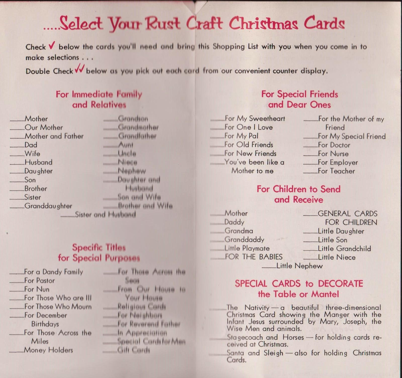 Vintage recycling ye olde christmas card list kristyandbryce Gallery