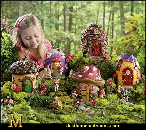 Decorating theme bedrooms Maries Manor fairy garden decorations