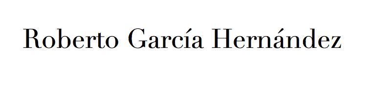Roberto García Hernández