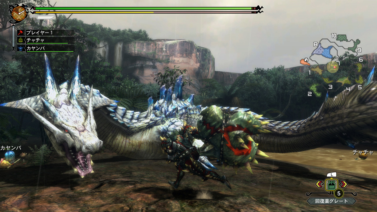 game wii u monster hunter ultimate
