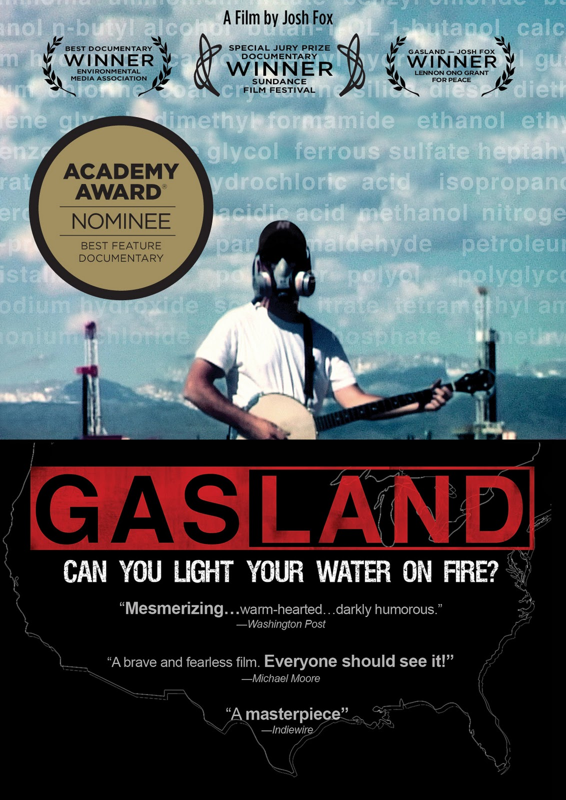 a critique of gasland can you light your water on fire Today in the news media  town reports that residents are able to light their drinking water on fire  revelations of a new country called gasland.