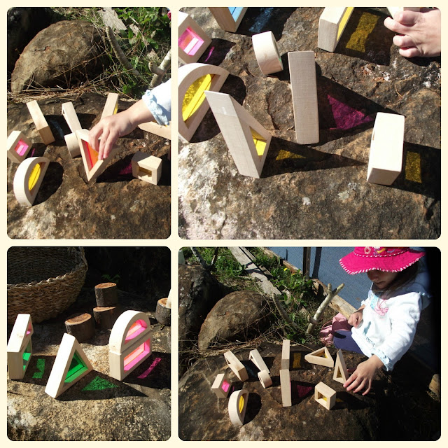Exploring Colour and Texture with Window Blocks2 - Mummy Musings and Mayhem