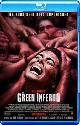 The Green Inferno 2015 English Movie BluRay 720p 900MB Download