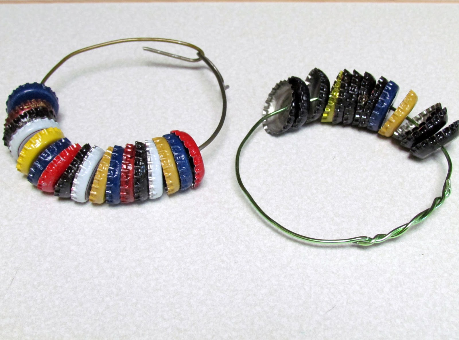Learn to grow how to make a bottle cap tambourine craft for How to make bottle cap crafts