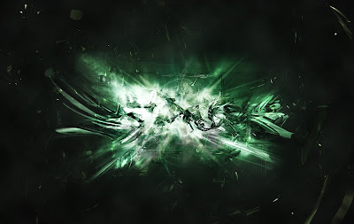 Green Abstract HD Wallpaper 1080p