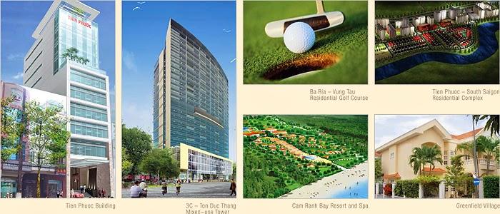 Các dự án của Phước Tiên