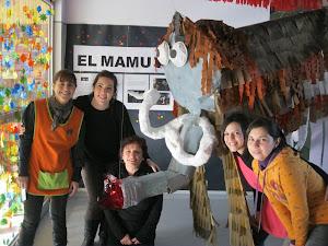 TREBALL EN EQUIP:fem el nostre Mamut