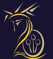 Logotipo XX Aniversario Banda  Cornetas y Tambores  Ntro. Padre Jesús Nazareno,Calzada de Calatrava