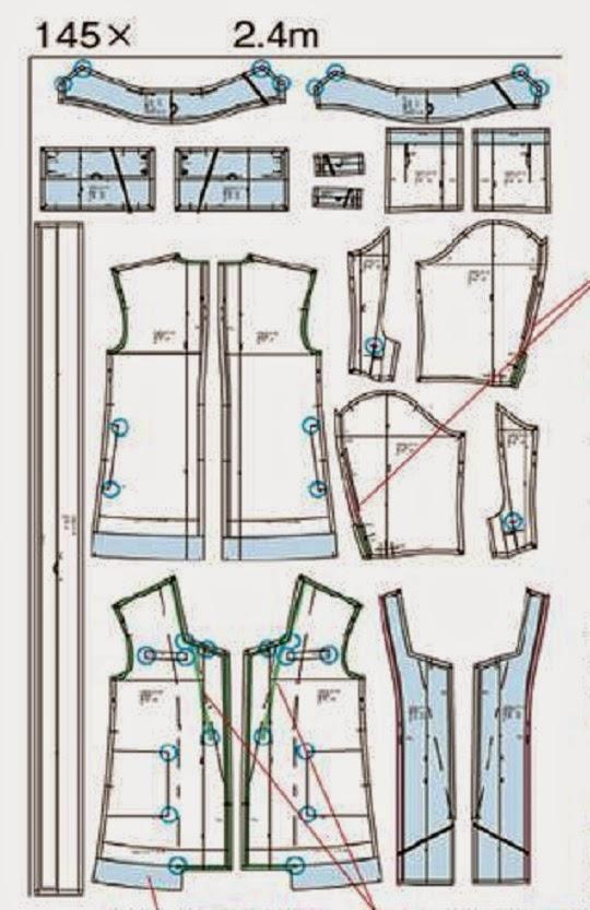 Patrón gratis: chaquetón o gabardina corta - yo elijo Coser