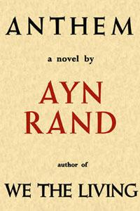 Portada original de Himno, de Ayn Rand