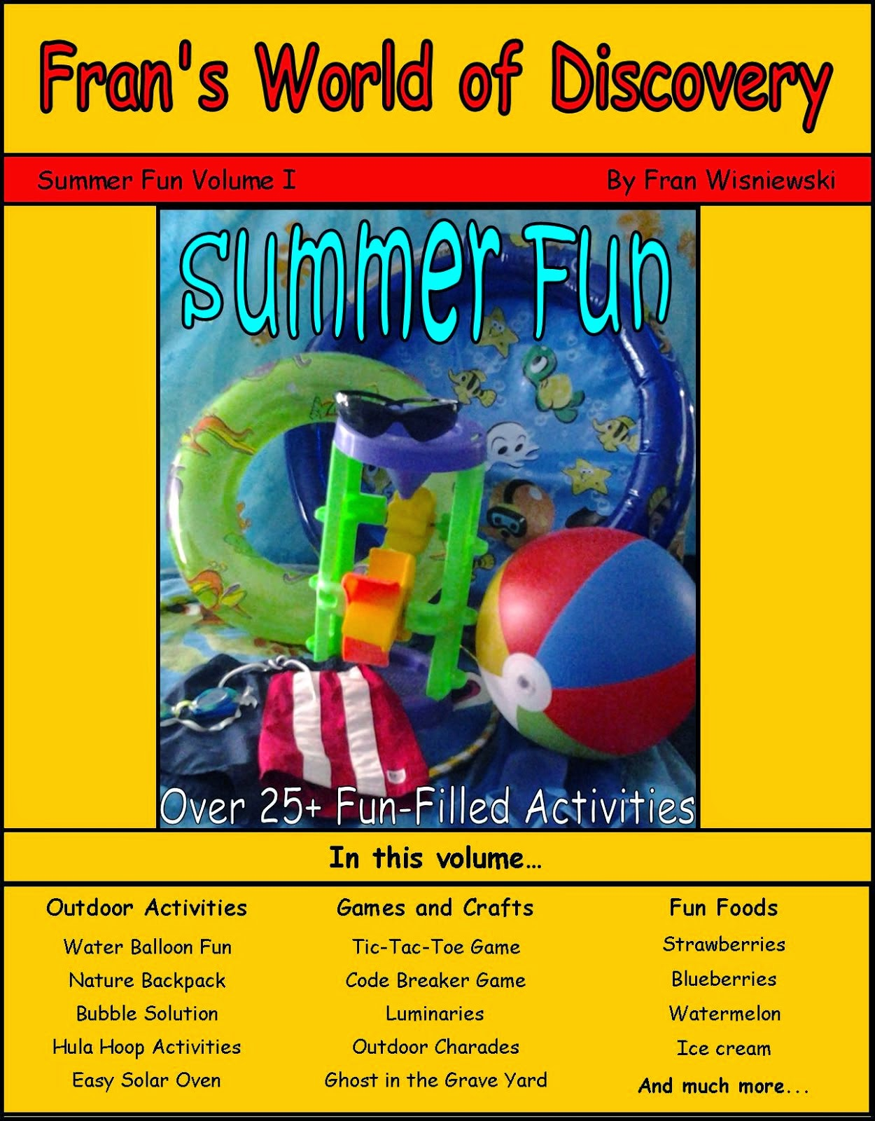 Summer Fun Activity Book! Volume 1