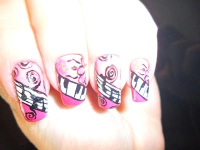 unhas em homenagem ao outubro rosa by rosangela doblins1