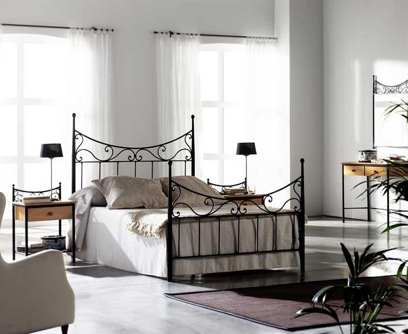 Muebles de forja camas de forja rustica - Camas de forja blancas ...