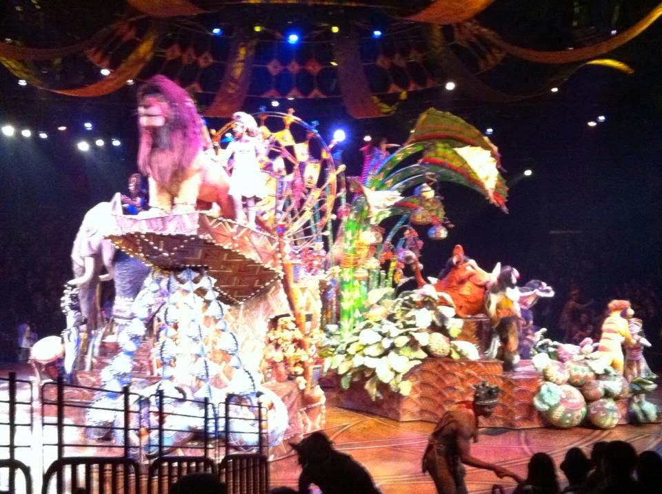 Lion King Disneyland Hong Kong
