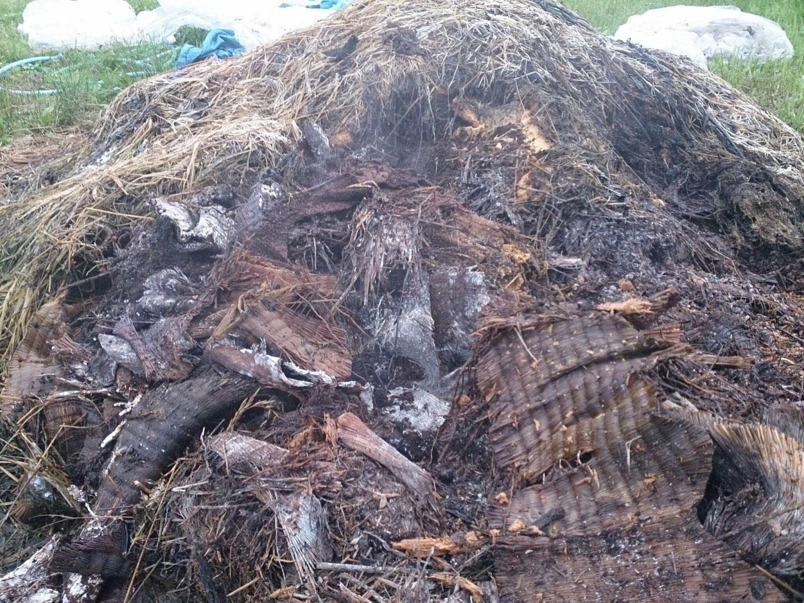 畳表の堆肥